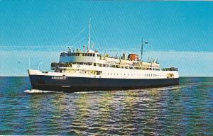 Canada Ferry and Ice Breaker M V S Abegweit Between Cape Tormentine New Bruns...