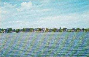 Vermont North Hero North Hero Village As Seen From City Bay On Lake Champlain