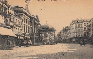 NAMUR, Belgium, 1900-1910's; Place d'armes