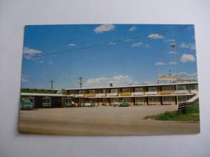 1960's Vacationer Motel Kalispell Montana MT Unused Postcard y6958