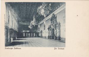 Der Festsaal, Hamburger Rathhaus, Hamburg, Germany, 1900-1910s