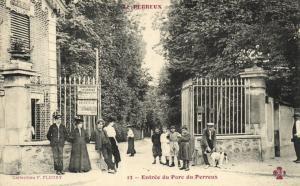 CPA Le Perreux (Dep.94) Entrée du Parc du Perreux (65646)