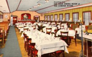 Massachusetts Boston Charlestown The Lobster House Main Dining Room
