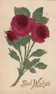 Silk Red Flowers , 00-10s