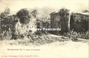 leeward islands, MONTSERRAT, B.W.I., Gates of Paradise (1899)