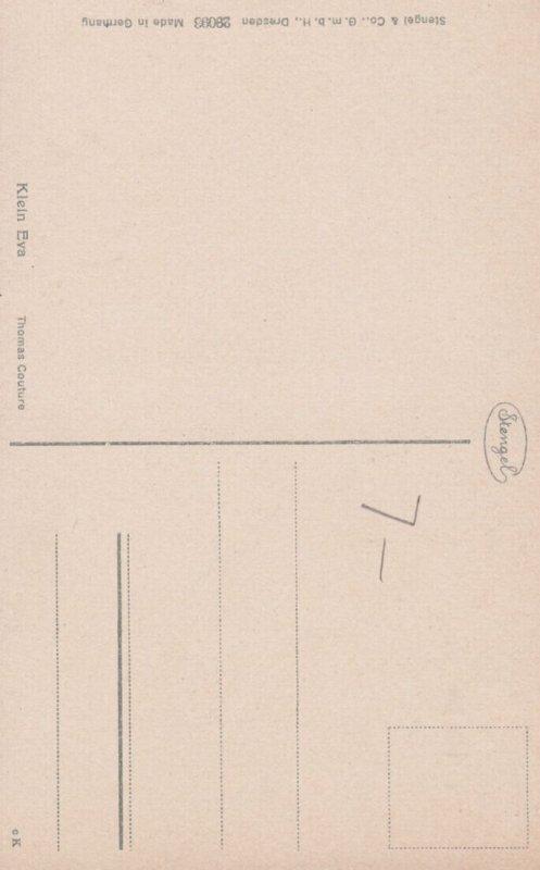 Klein Eva , Artist Thomas Couture , 00-10s