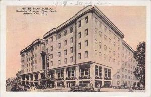 New Jersey Atlantic City Hotel Monticello Kentucky Avenue