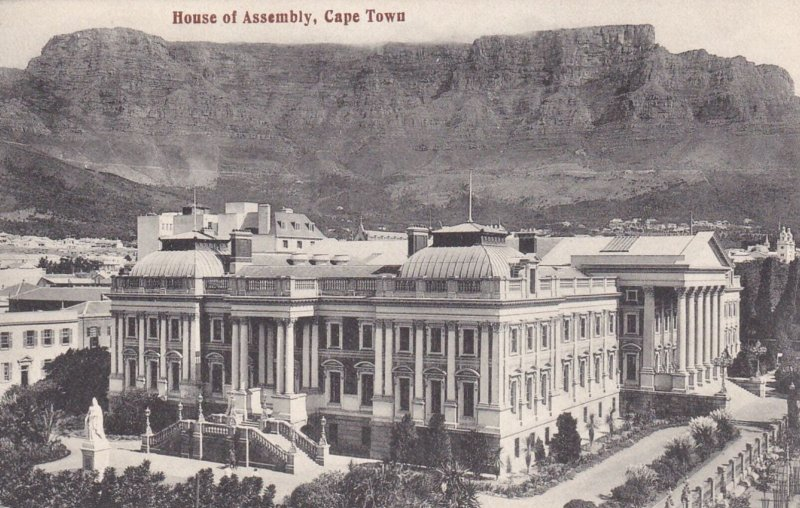 CAPE TOWN , South Africa , 00-10s ; House of Assembly