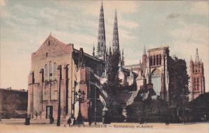 BORDEAUX, Gironde, France, 1900-1910's; Cathedrale St. Andre