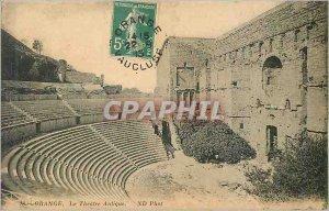Postcard The Old Orange Theater Antique