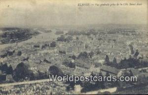 Elbeuf, France, Carte, Postcard Vue generale prise de la Cote Saint Auct Elbe...