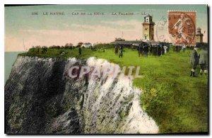 Old Postcard Le Havre Cape of Heve La Falaise
