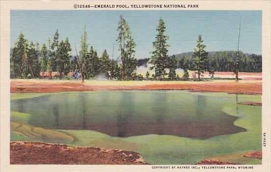 Emerald Pool Yellowstone National Park