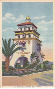 La Campanilla Chimes Bell Tower Hotel Agua Caliente Mexico