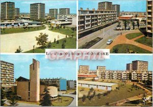 Postcard Modern Gonesse Fauconniere The Square la Garenne The Shopping Center...