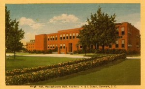 SC - Denmark. Voorhees Normal & Industrial School, Wright Hall & Massachusett...