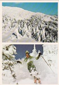 Canada Big White Ski Village Kelowna British Columbia