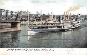 S.S. Albany in  Albany NY Harbor