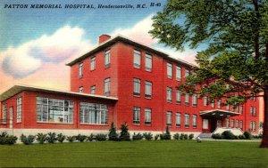 North Carolina Hendersonville Patton Memorial Hospital