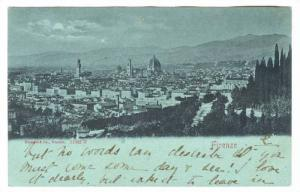 FIRENZE, Aerial View, Toscana, Italy, 00-10s