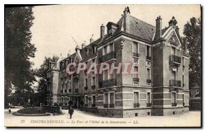 Postcard Contrexeville Old Park Hotel and the Sovereign