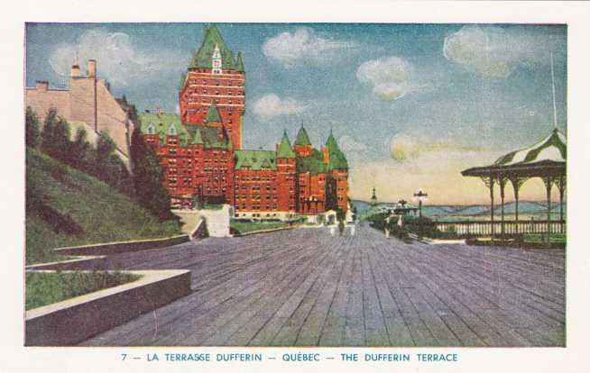 The Dufferin Terrace - Old Quebec - Quebec City QC, Quebec, Canada - WB