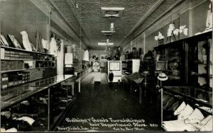 Fairfield Iowa~Fair Department Store~Gentlemen's Furnishings~c1910 CU Williams