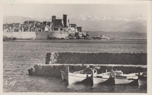 RP: ANTIBES (Alpes Maritimes), France, 20-40s; Panorama Et La Chaine Des Alpes