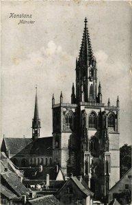 CPA AK Konstanz Munster GERMANY (892764)