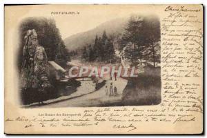 Old Postcard Pontarlier The Ladies Of Entreportes