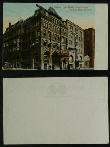 Grand Union Hotel-Front Street, Toronto Ontario corner