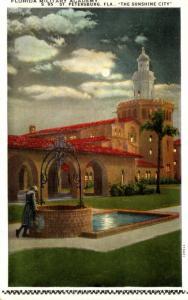 Florida St Petersburg Florida Military Academy Curteich