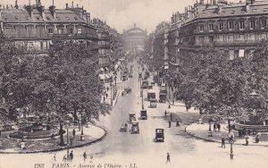 PARIS, France, 1900-1910s; Avenue De L'Opera