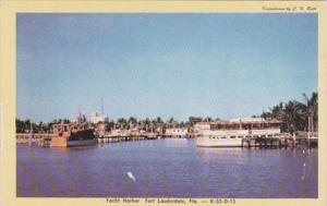 Florida Fort Lauderdale Yacht Harbor Dexter Press