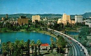 Los Angeles Wilshire Boulevard 1957