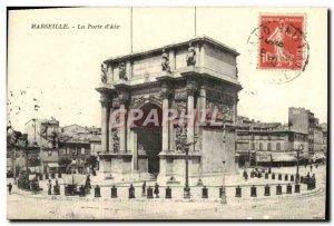 Old Postcard Marseille The door & # 39aix