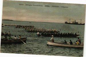 CPA AK Senegal-Dakar-Régates (235382)