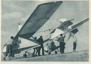 Czech Republic, 1940-50s ; Transport klzakov na start, Airplane