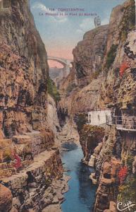 Le Rhumel Et Le Pont El Kantara, CONSTANTINE, Algeria, Africa, 1900-1910s