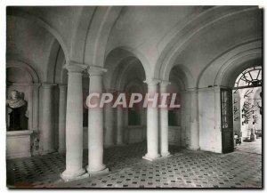 Modern Postcard Tanlay Chateau Hallway of Cesars