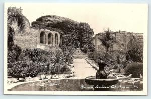 Postcard CA Mission San Juan Capistrano RPPC Real Photo #2