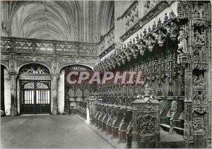 Modern Postcard Bourg en Bresse (Ain) Brou Church (early sixteenth S) The Sta...