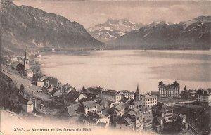 Montreux et les Dents du Midi Switzerland Unused