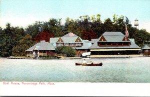 Massachusetts Norumbega Park Boat House