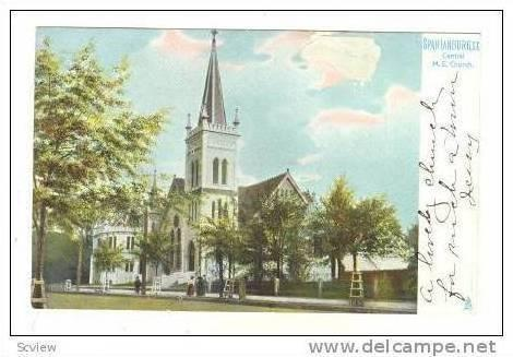 Spartanburg, South Carolina Central M.E. Church, Pre 1907