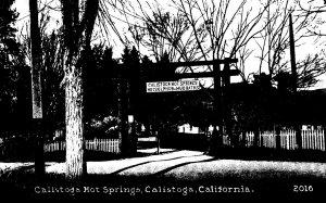 California Calistoga The Calistoga Hot Springs