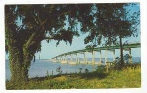 Highway Bridge Over Lake Marion, South Carolina, 1940-1960s