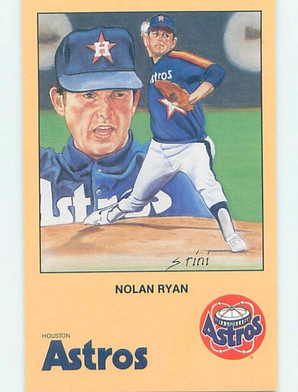 1980s ASTROS BASEBALL - NOLAN RYAN Houston Texas TX AG6200@