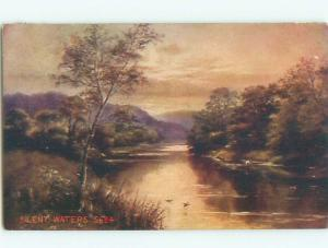 Divided-Back GREAT SCENE Greeting Postcard AA7071