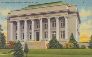 North Dakota Bismarck Liberty Memorial Building